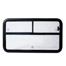 校車鋁框滑動側窗組件